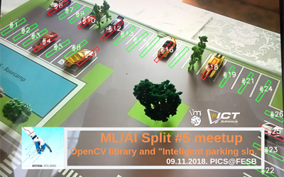 "ML/AI Split #5 : OpenCV library & ""Intelligent parking solution"""